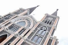 La maggior parte di bella chiesa in Tailandia ha isolato Immagini Stock Libere da Diritti