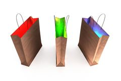 La magia de las compras Ilustración del Vector