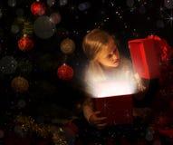 La magia de la Navidad  imagenes de archivo