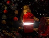 La magia de la Navidad  fotos de archivo libres de regalías