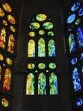 La magia del color Inspirado por A Gaudi Fotos de archivo