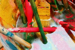 La magie de couleurs Photos libres de droits