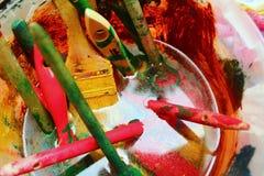 La magie de couleurs Photo libre de droits