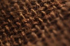 La maglia naturale è usata come struttura immagine stock