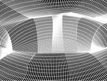 La maille du noir de trou illustration stock
