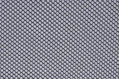 La maille grise en métal Images stock