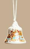 Décoration de Bell de Noël Image libre de droits