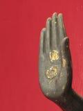 La main de Bouddha image stock