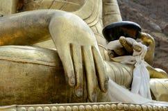 La main de Bouddha Photos libres de droits