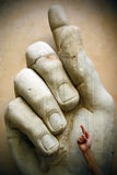 La main de l'empereur Images libres de droits