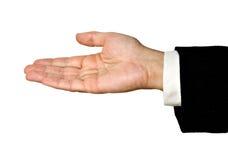 La main de l'homme Image libre de droits
