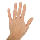 La main de l'homme Photos libres de droits