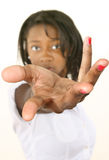 La main du femme Photographie stock libre de droits