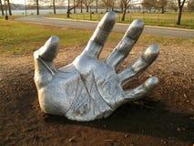 La main du géant Photo libre de droits