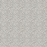La main noire abstraite a esquissé le modèle sans couture de fond de grille Photo libre de droits