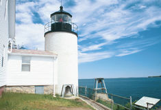 La Maine Lighthouse1 fotografie stock libere da diritti