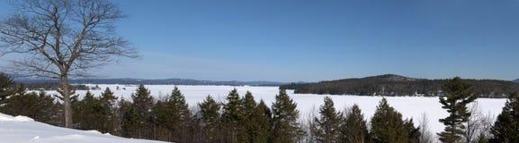 La Maine panoramica Immagini Stock Libere da Diritti