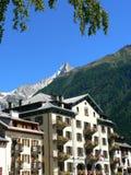 La mairie de Chamonix-Mont-Blanc ( France ) Royalty Free Stock Images