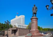 La Maison Blanche - centre du gouvernement russe à Moscou Russie Photos stock