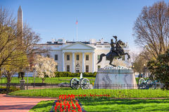 La Maison Blanche dans le C.C Photo libre de droits