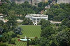 La Maison Blanche dans le Washington DC, Etats-Unis Photos stock
