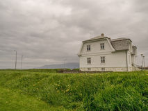 La Maison Blanche Reykjavik image stock