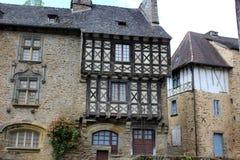 La Maison Boyer, Segur-le-Chateau. The Maison Boyer in the village of Segur-le-Chateau royalty free stock image