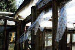 La maison détruite Photographie stock
