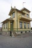 La maison d'Edvard Grieg à Bergen norway Photos stock