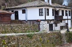 La maison dans laquelle les gens vivent Image stock