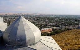 La maison de Babur dans Osh, Kirghizistan photographie stock libre de droits