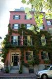 La maison de côte de radiophare, Boston Images stock