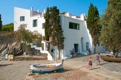 La maison de Dali dans Portlligat, Cadaques, Espagne Photos libres de droits