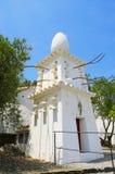 La maison de Dali dans Portlligat, Cadaques, Espagne Photographie stock libre de droits