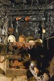 La maison de fumée dans Lois, ³ n, Espagne de Leà photo stock