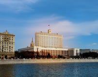 La maison de gouvernement de Fédération de Russie images libres de droits