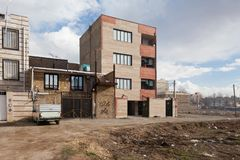 La maison de rapport en Iran Images stock
