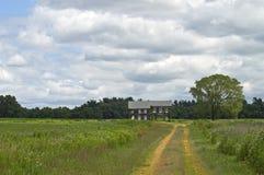 La maison de route Photo stock