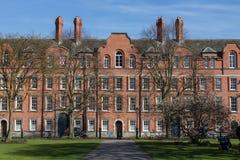 La maison de rubriques dans l'université de trinité de Dublin, Irlande, 201 Photo libre de droits
