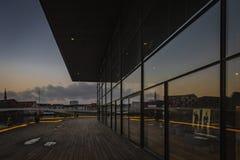 La maison de théâtre danoise royale à Copenhague photographie stock libre de droits