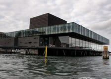 La maison de théâtre danoise royale chez Nyhavn à Copenhague Photos libres de droits