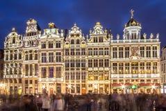 La Maison des Brasseurs, Brussels, Belgium. View of the La Maison des Brasseurs on Grand Place in Brussel, Belgium Stock Images