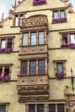 La Maison des Têtes in Colmar Stock Photography