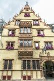 La Maison des Têtes in Colmar Royalty Free Stock Images