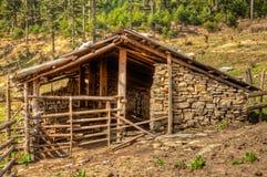 La maison du berger de yaks Photographie stock libre de droits