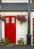 La maison du pêcheur écossais traditionnel photographie stock libre de droits