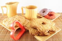 La maison a effectué des biscuits Photographie stock libre de droits