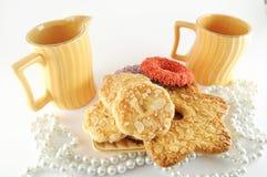La maison a effectué des biscuits Images stock