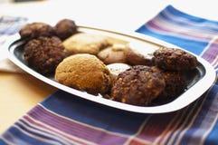 La maison a effectué des biscuits Photographie stock