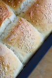 La maison a effectué des pains de pain Images libres de droits